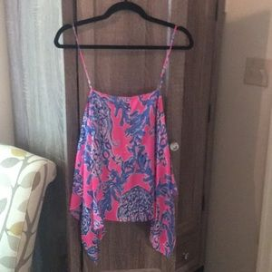 Silk Lilly top